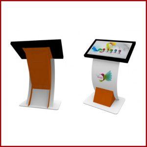 Borne tactile 32 pouces est un support idéal pour attirer l'attention de ses utilisateurs. Véritable support de communication.