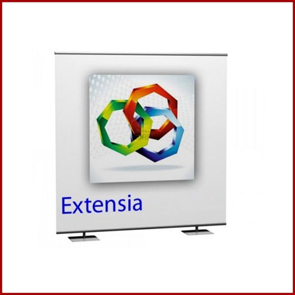 Découvrez le mur d'image Extensia ainsi que ses utilisations multiples et variées. Extensia peut être utilisé comme fond de stand. comme mur d'image.